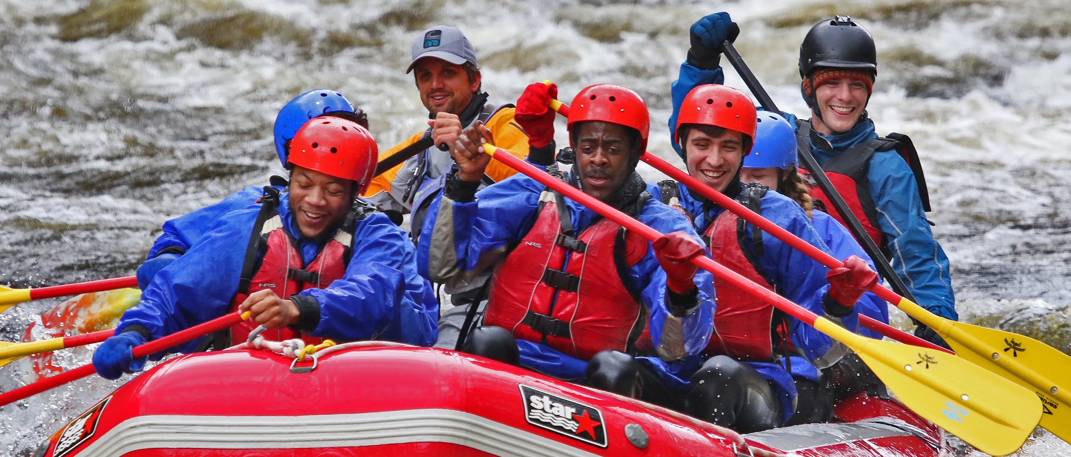 Student Life rafting trip