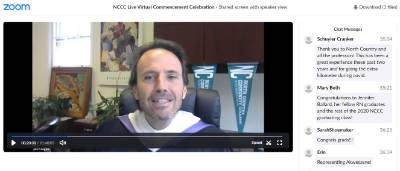 President Keegan leads Virtual Commencement
