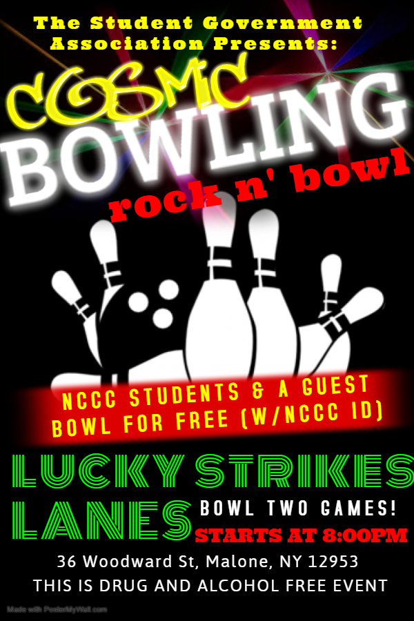 Malone Campus Free Bowling Nights