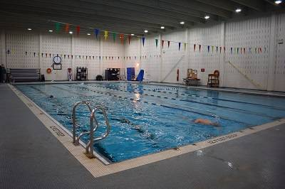 This is an image of NCCC's pool.