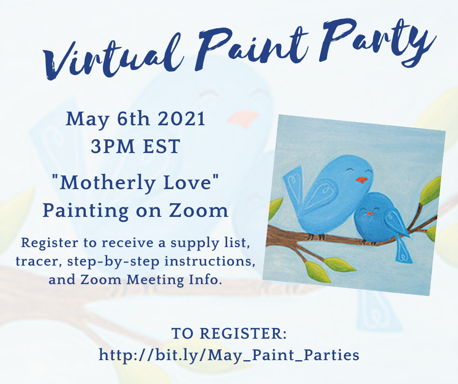 Virtual Paint Party: Motherly Love