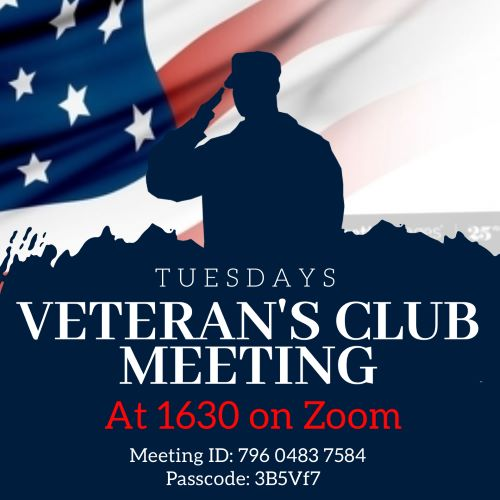 Veteran's Club Meeting